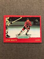 1973 - 1974 Stan Mikita 1973/74 O-PEE-CHEE OPC Chicago Black Hawks Card #6