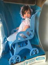 Uneeda Doll Pam In Her Pram Drinks & Wets Baby Doll Iop Original Box Vintage