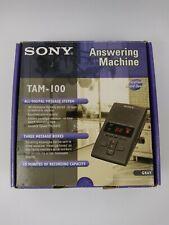 SONY TAM-100 Digital Telephone Answering Machine Message System