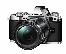 Olympus OM-D E-M5 Mark II 14-150mm Digital Camera Lens kit Silver*Free shipping*