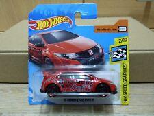 Hot Wheels 2018  `16 Honda Civic Type R  HW Speed Graphics #126/365
