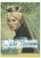 Quotable Star Trek TOS Original Series Autograph Card A99 Julie Newmar as Eleen