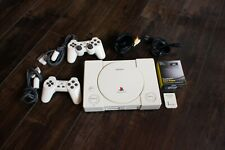 Custom Painted PS1 w/ PSIO, Two Controllers, Memory Card, 128GB SD Card