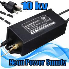 Neon Sign Electronic Transformer 10000V 10KV Light Power Supply 120V UL Listed