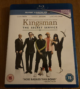 Kingsman The Secret Service Blu Ray + Digital HD