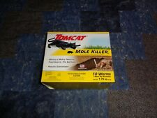 TOMCAT Mole Killer Worms Pest Rodent Bait 10 Count Box Factory Sealed