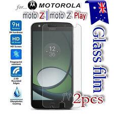 2X Motorola Moto Z | Z Play | Z2 Play Tempered Glass / Pet Screen Protector Film