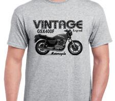 SUZUKI GSX400F 81 inspired vintage motorcycle classic bike shirt tshirt