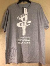 New Success Comes Envy T Shirt 15711S Men's Grey Size Large