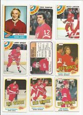 DETROIT RED WINGS VINTAGE HOCKEY CARDS LOT OF 27 YZERMAN + O-PEE-CHEE