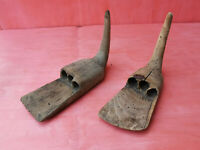 PALAMARKA - ANTIQUE PRIMITIVE WOODEN TOOL USED IN HARVEST TIME - LOT OF 2