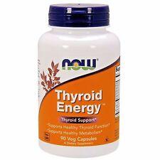 NOW Foods THYROID ENERGY - 90 veggie capsules Healthy Thyroid Support