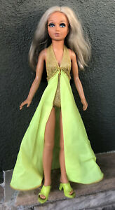 """Vintage '73 Ideal Tiffany Taylor 18"""" Changing Hair Doll Teenage  Ideal"""