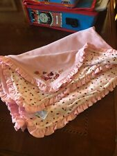 Vintage Ladybug Luck Layette Blanket Set 2001