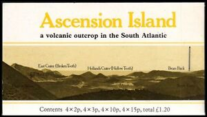 """ASCENSION 282b - Local Flowers """"Complete Booklet of Four Panes"""" (pa69469)"""