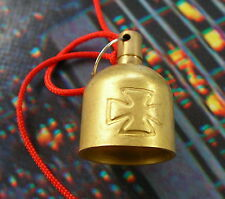 "GREMLIN BELL ""BRASS MALT CROSS"", TRADITION AMERICAINE HD"