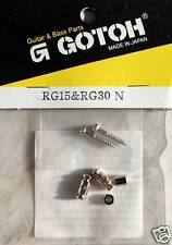 String Retainer GOTOH Cylindric passe cordes Strat Tele Rg15&30 nickel