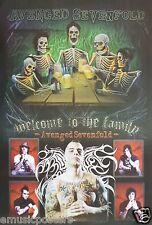 "AVENGED SEVENFOLD ""WELCOME TO THE FAMILY"" POSTER FROM THAILAND -Rock/Metal Music"