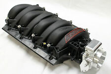 FAST 92mm LSX Black Intake Manifold w/ Nick Williams Throttle Body LS1/LS6/LS2