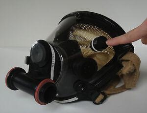 Wide-i Firefighter Mask Black FOG WIPER (Mask NOT included)