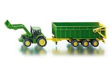Siku 1843 - John Deere Tractor & Trailer            (1:87) Plastic & Metal Model