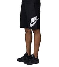 NIKE AW77 SweatShorts 2XL New+Tags Bold Logo Vtg Style Fleece Jogging Spa Shorts