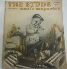 The Etude Magazine The Art Of Piano Ensemble January 1941 013015R