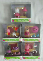Peppa Pig Dress and Play X5 - Danny Dog Kylie Kangaroo Peppa Suzy Sheep George