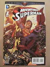 Adventures of Superman #1 DC Comics 2013 9.6 Near Mint+
