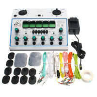 KWD808-I Electric Acupuncture Stimulator Machine 6 Output Patch Massager   FF