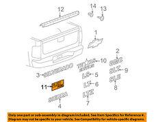 GM OEM Bed / Fender-Emblem Badge Nameplate 20903652
