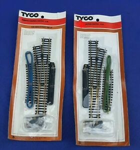 Vintage TYCO Remote Control Switches L.H. 910 & R.H. 911 w/Original Packaging