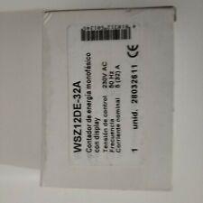 Contador de energíacon display WSZ12DE-32A