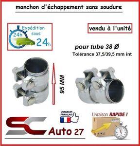MANCHON CONNECTEUR D' ECHAPPEMENT/RACCORD POUR LIGNE /TUBE 38 mm l'unité AA99063