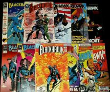 BLACKHAWK #246,247,252,255 (1989) #1 +SPECIAL 1 +ANN 1 +BOOK #1,2,3 DC 11 Comics