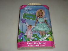 NEW BARBIE & KELLY EASTER EGG PARTY GIFT SET MATTEL 25790 TARGET SPECIAL EDITON