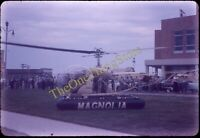 Mobil Gas Helicopter Magnolia 1950s 35mm Slide