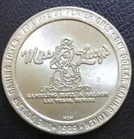 1989 Miss Lucy's Gambling Hall & Saloon $1 Gaming Token Las Vegas Nevada NV