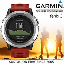 Garmin Fenix 3 Silver │ Outdoor GPS Orologio Smart │ Multi Sport : Corsa │ Abc