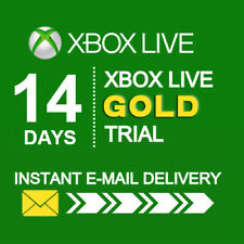 XBOX LIVE 14 Days Xbox Live Gold Trial Code Membership 2 Weeks (Xbox One/360)