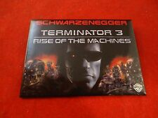 Terminator 3 Rise of the Machines Promotional Button Pin Back Promo