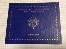 Coffret Brillant Universel Série Euro Vatican 2007. Petit Prix. Réf E8