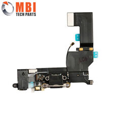 Replacement Charging Dock Port Connector Flex Cable for iPhone SE Black