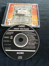 AC/DC HIGH VOLTAGE CD EARLY MADE IN AUSTRALIA PRESS SONY  BLACK ALBERT 465250 2