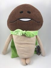 "Mushroom Garden FUNGHI NAMEKO 17"" Plush Doll Anime w/ Green Cape Tags Furyu"
