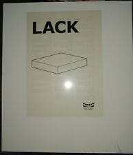 """IKEA LACK Wall Shelf White Floating Conceal Mounting 11 3/4 x 10 1/4 """""""