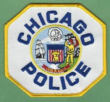 CHICAGO ILLINOIS POLICE SHOULDER PATCH