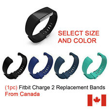 (1pc) Silicone Bracelet Strap Replacement Band for Fitbit Charge 2