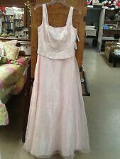 NWT! Women's Size 12 BETSY & ADAM by JASLENE Long & Flowing Pink Formal Dress