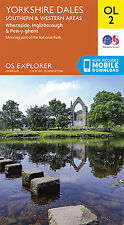 OL2 Yorkshire Dales South & West Ordnance Survey Explorer Map OL 2